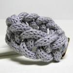 WISTERIA - cotton yarn chain bracel..